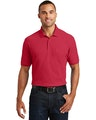 Port Authority K100P Rich Red