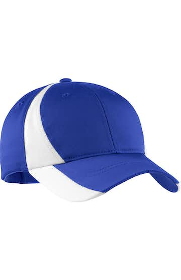 Sport-Tek YSTC11 True Royal / White