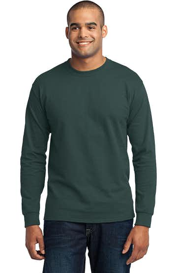 Port & Company PC55LS Dark Green
