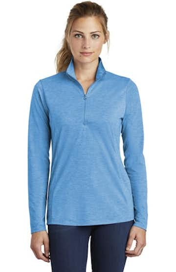 Sport-Tek LST407 Pond Blue Heather