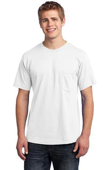 Port & Company USA100P White