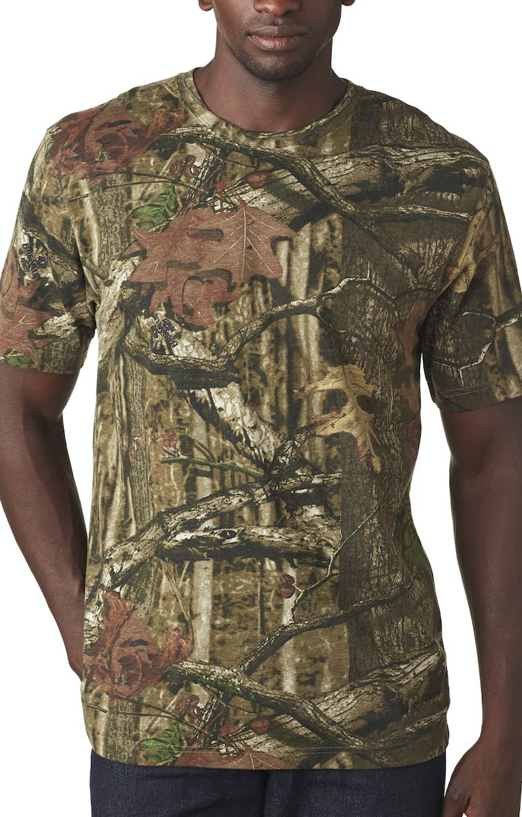 c044df64f9882 Code Five 3970 Men's Mossy Oak® Camo T-Shirt - JiffyShirts.com