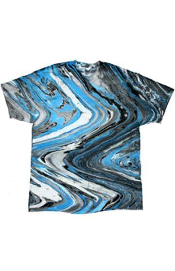 Tie-Dye CD100Y Marble Blue Tiger