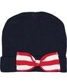 Rabbit Skins 4453 Navy/ Red-White Stripe