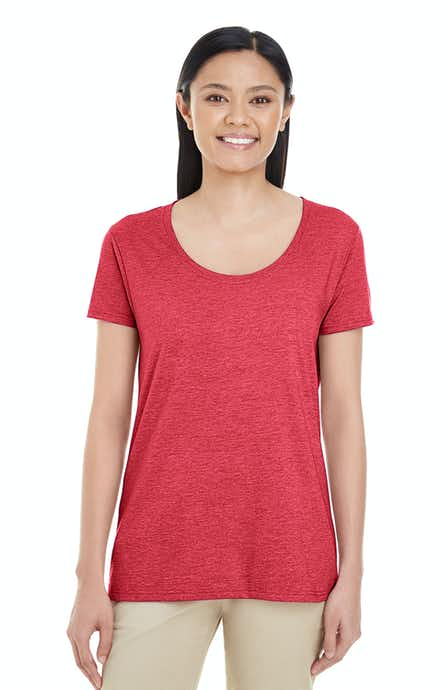 Gildan G6455L Heather Red