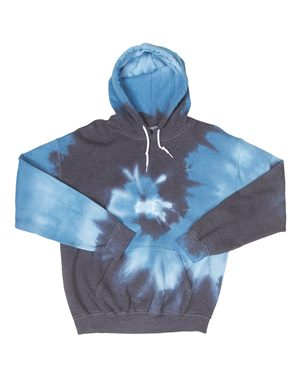 Dyenomite Blended Hooded Sweatshirt 2XL Flo Rainbow 680VR