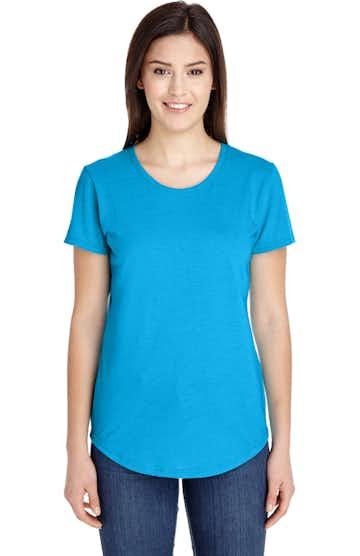 Anvil 6750L Heather Caribean Blue