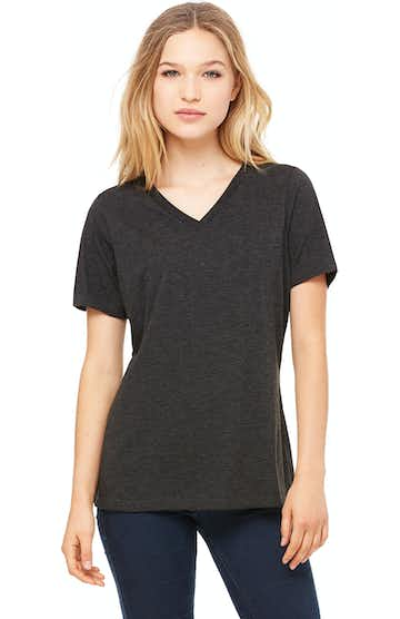 Bella + Canvas 6405 Charcoal Black Triblend
