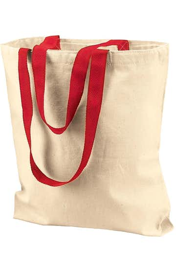 Liberty Bags 8868 Natural/Red