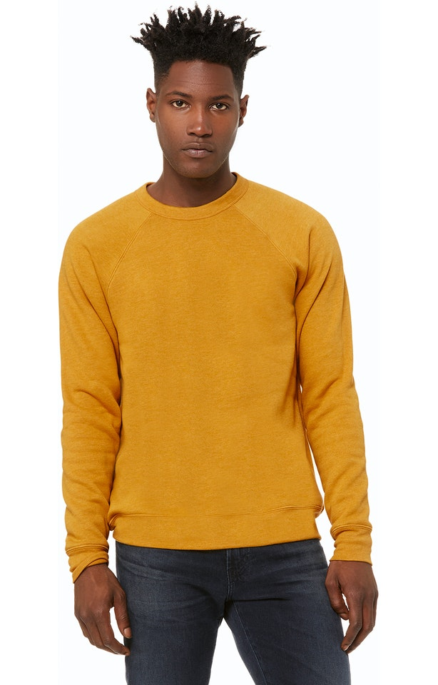 Bella + Canvas 3901 HEATHER MUSTARD