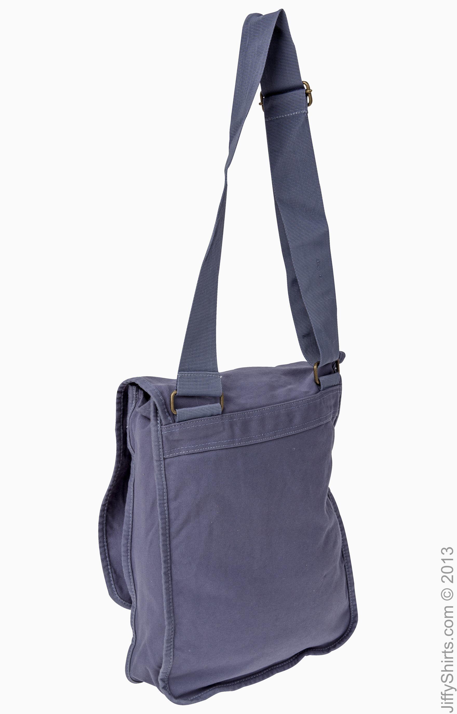 1902 Authentic Pigment Dyed Canvas 100/% Cotton Front Flap Field Messenger Bag