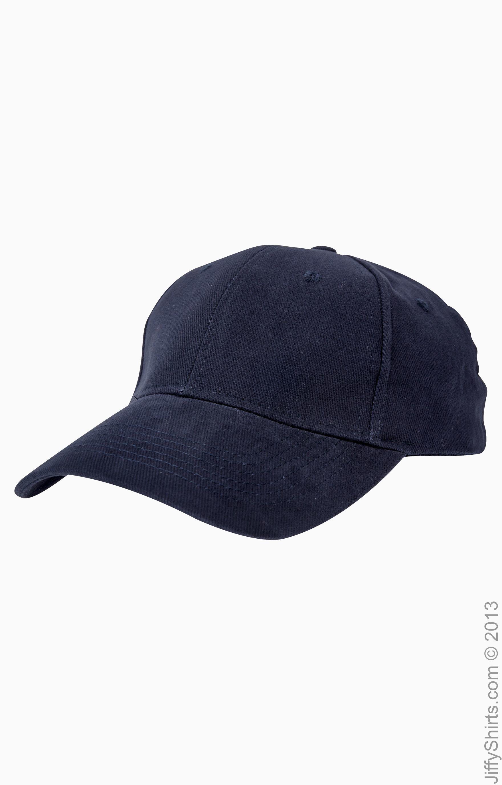 Anvil 136 6-Panel Brushed Twill Cap