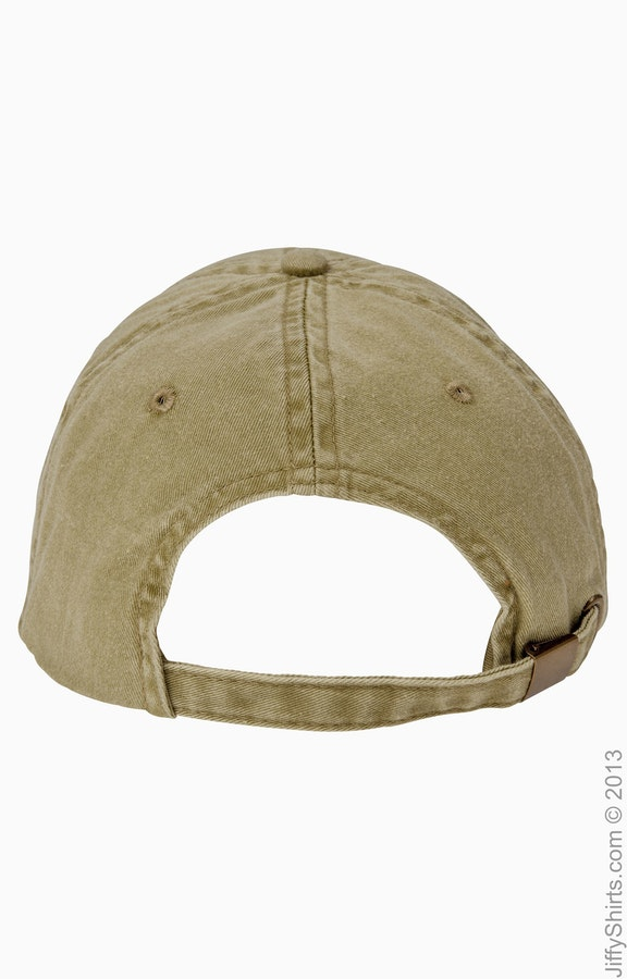 6323b6ac673 Anvil 145 Adult Solid Low-Profile Pigment-Dyed Cap - JiffyShirts.com