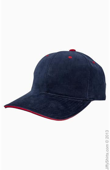 Yupoong 6262S Navy/Red