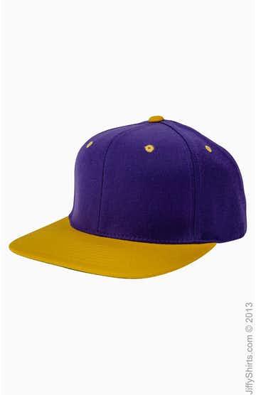 Yupoong 6089 Purple/Gold