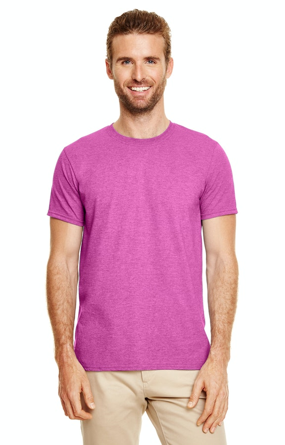Gildan G640 Heather Berry