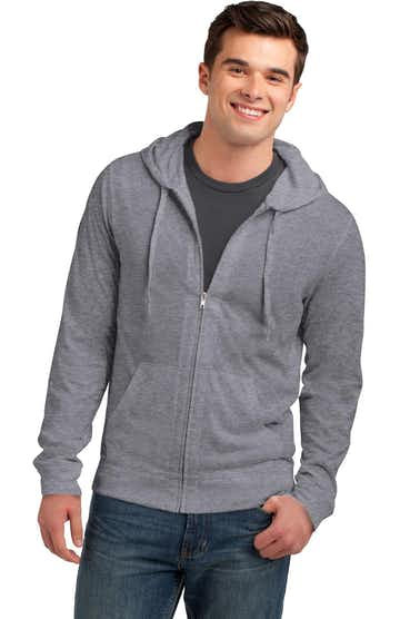 District DT1100 Dark Heather Gray