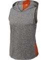 Sport-Tek LST410 Deep Orange / Dark Gray He