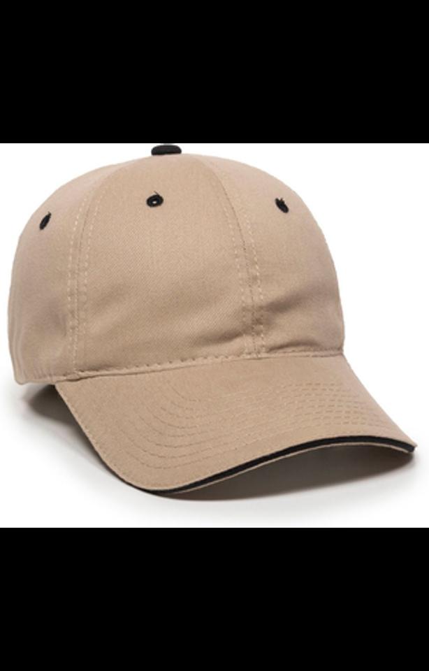Outdoor Cap GL-645 Khaki / Navy