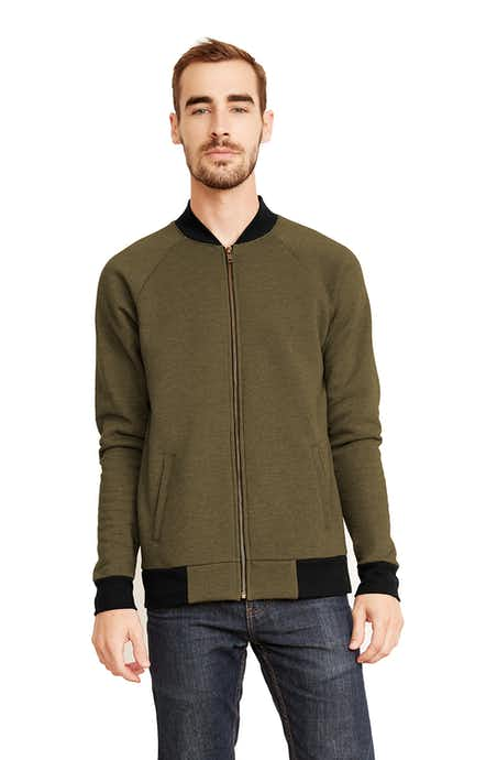 Next Level 9700 Heather Military Green