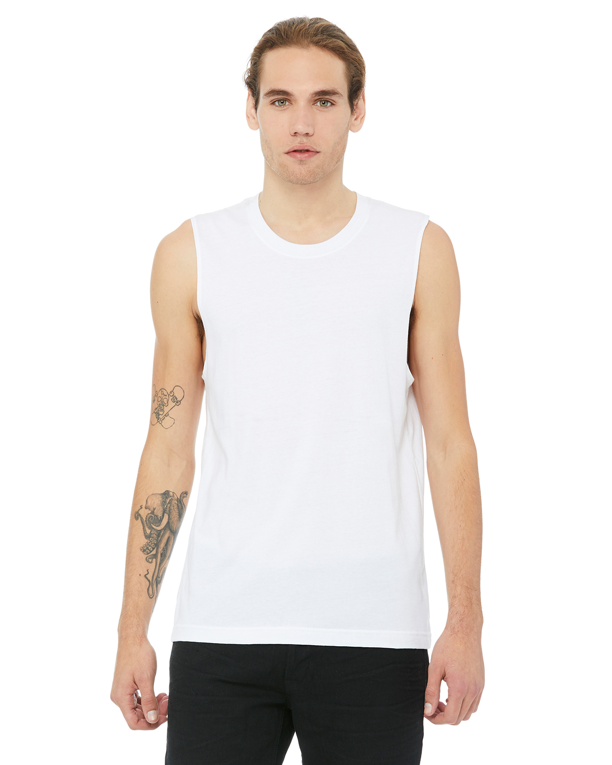 Canvas Unisex Jersey Muscle Tank Top 3483 XS-2XL 8 Colors Bella