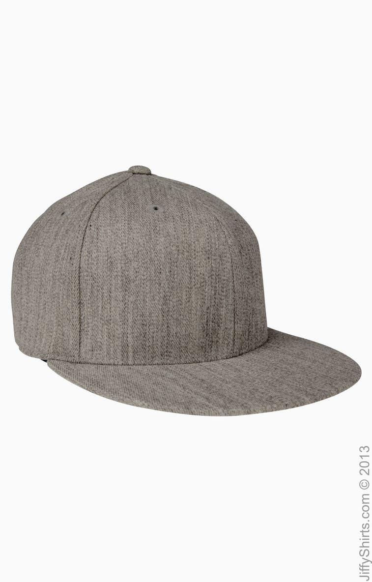 bc58d9f714b60 Flexfit 6210 Adult Premium 210 Fitted® Cap - JiffyShirts.com