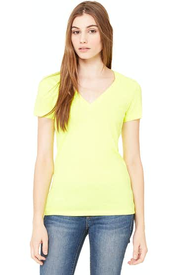 Bella + Canvas B6035 Neon Yellow