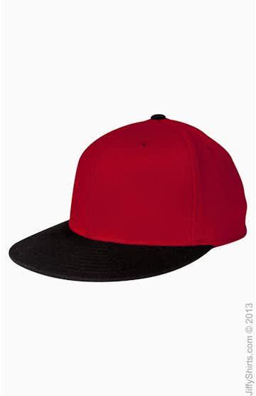 Flexfit 6210T Red / Black