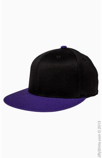 Flexfit 6210T Black / Purple
