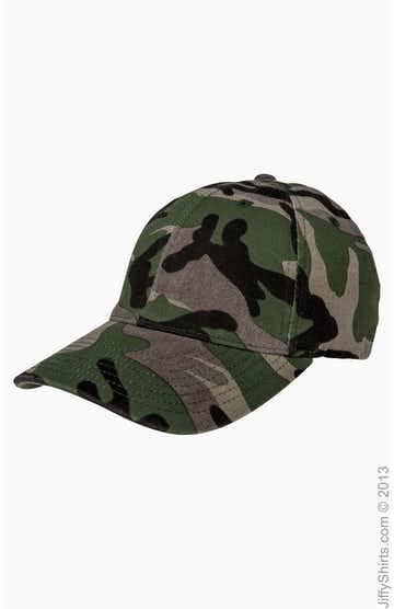 Flexfit 6977CA Green Camouflage
