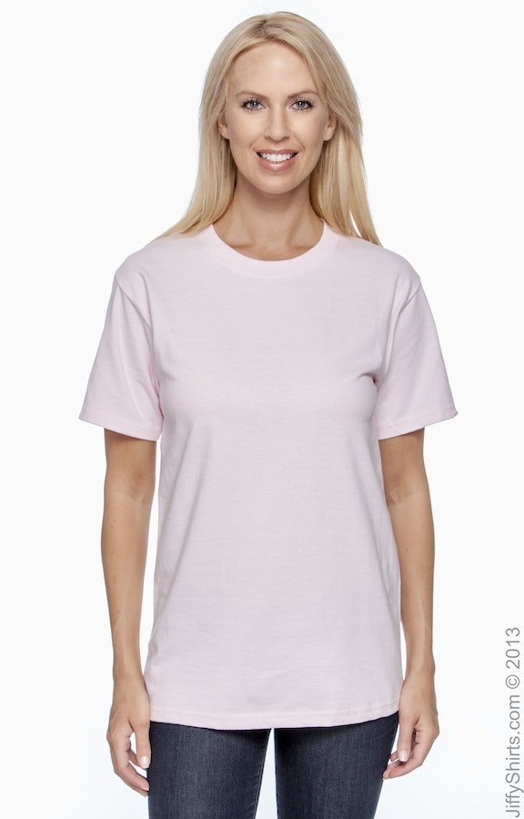 Hanes 5180 Pale Pink