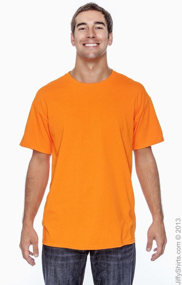 Gildan G200 High Viz Safety Orange