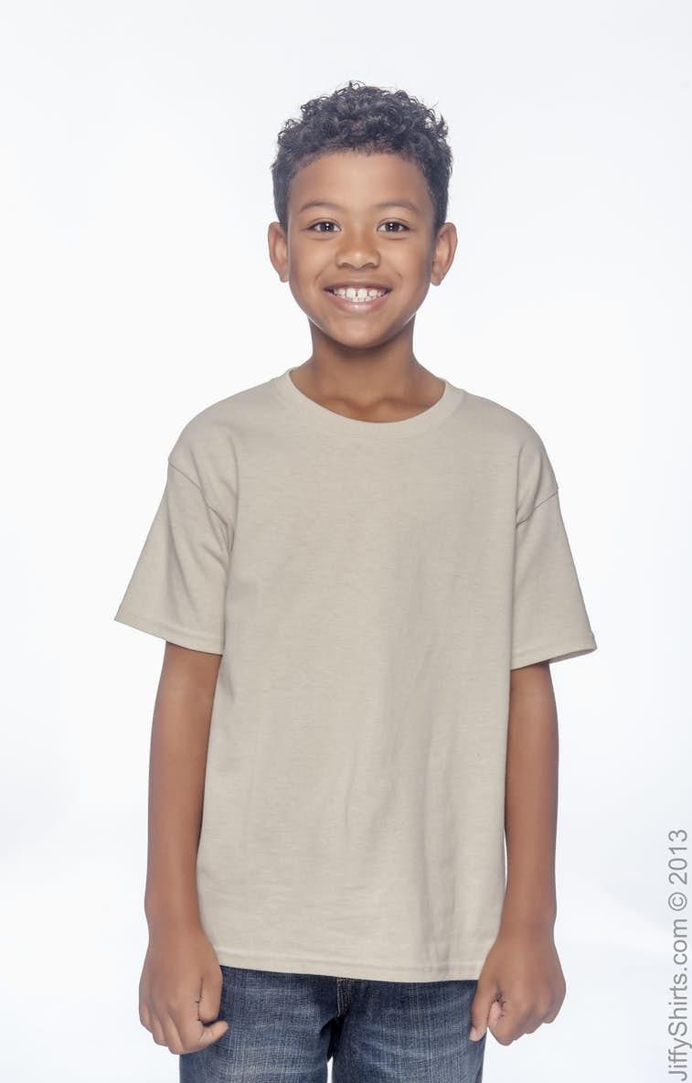 716f78045 Gildan G500B Youth Heavy Cotton™ 5.3 oz. T-Shirt - JiffyShirts.com