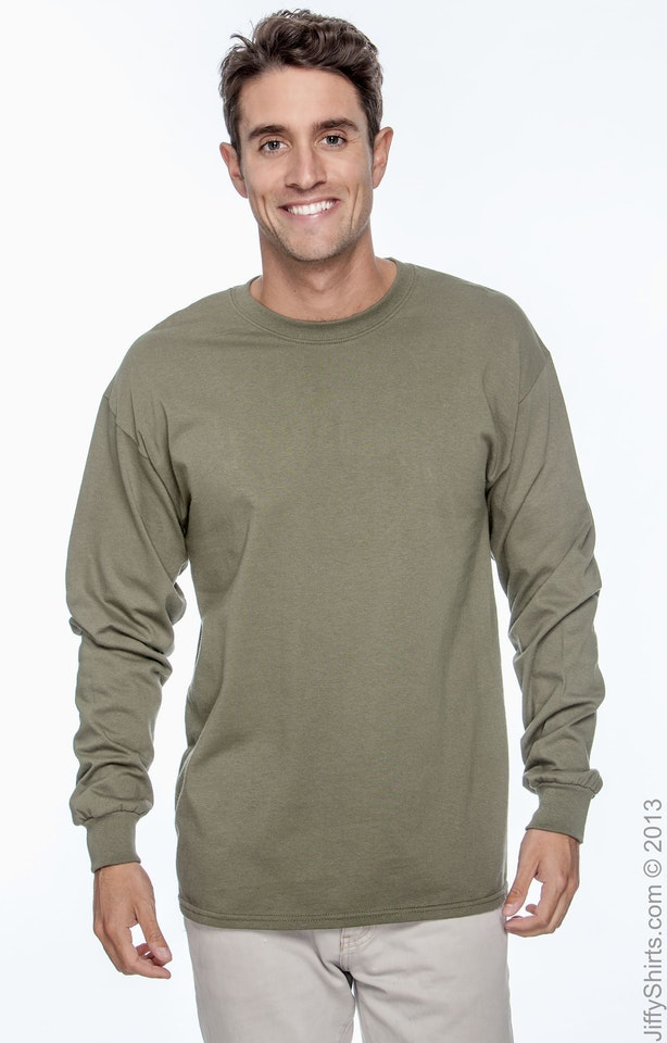 Gildan G240 Military Green