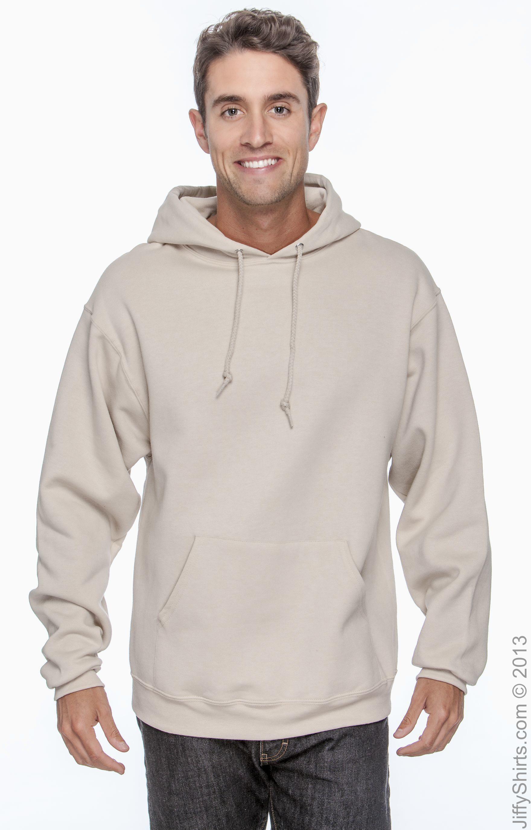 JERZEES Men/'s Hoodie Fleece Pullover Hooded Sweatshirt NuBlend Size 4XL-5XL New