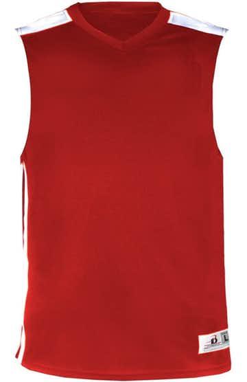 Badger B8548 Red / White