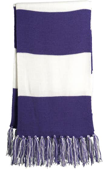 Sport-Tek STA02 Purple / White
