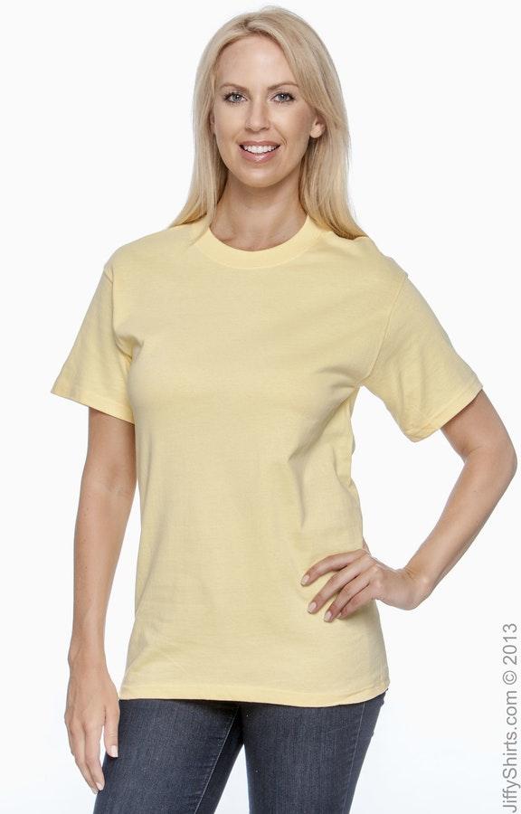 Hanes 5180 Daffodil Yellow