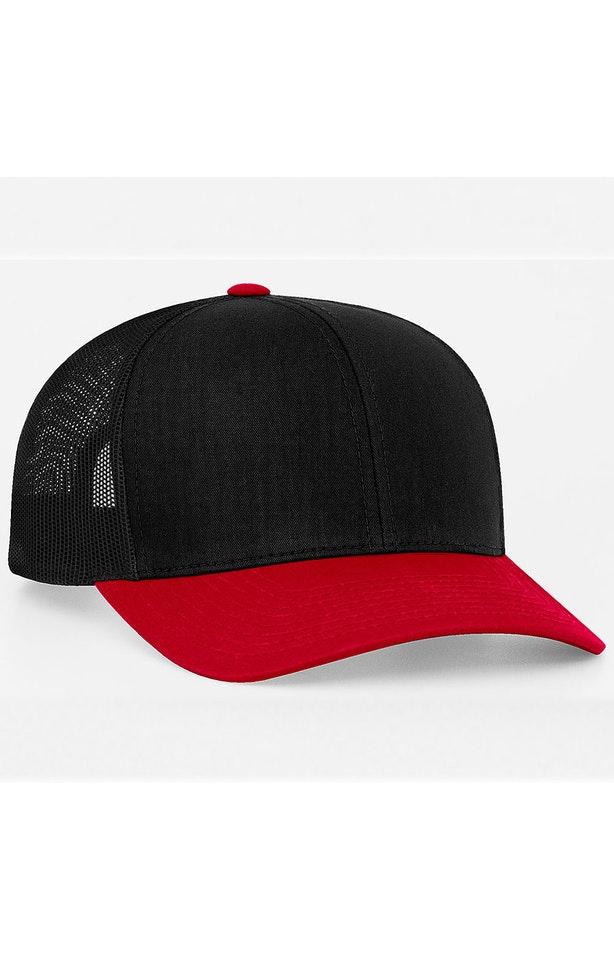 Pacific Headwear 0104PH Black/Red