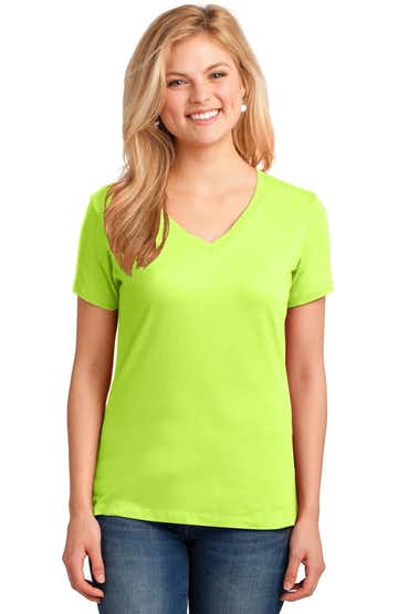 Port & Company LPC54V Neon Yellow