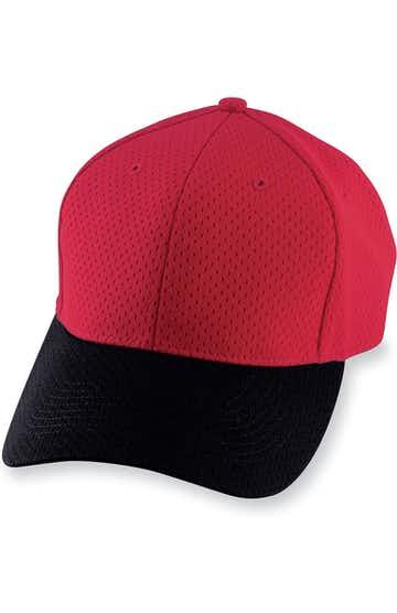 Augusta Sportswear 6236 Red / Black