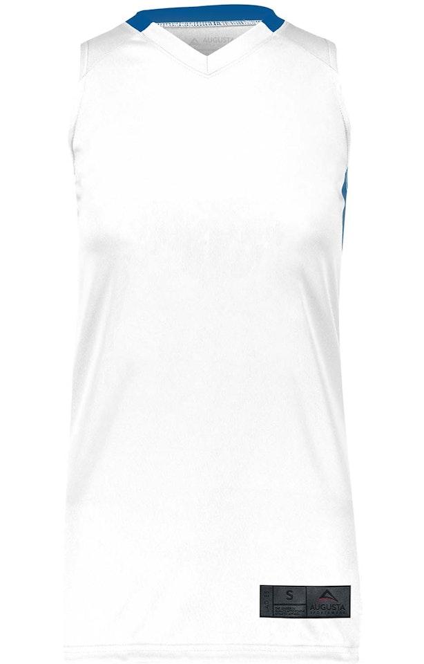 Augusta Sportswear 1732AG White / Royal