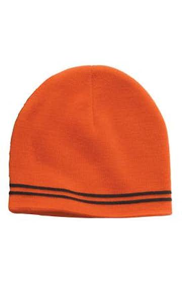 Sport-Tek STC20 Deep Orange / Black