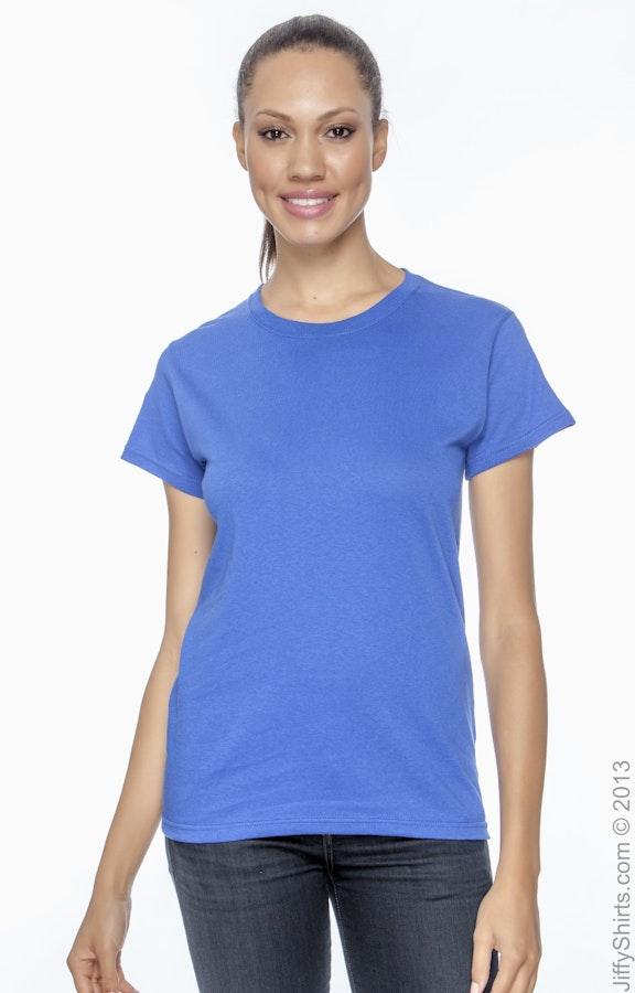 35c0cca895eb Anvil 978 Women's Heavyweight Cotton T-Shirt - JiffyShirts.com