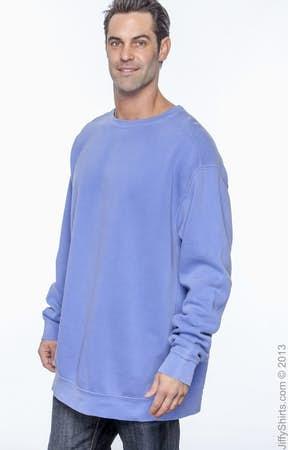 comfort colors crewneck blue jean water sweatshirt oak and product comforter