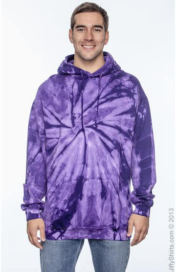 Tie-Dye CD877 Spider Purple