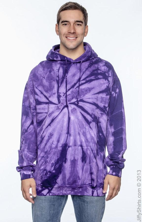 Tie-Dye CD877 Spider Purple