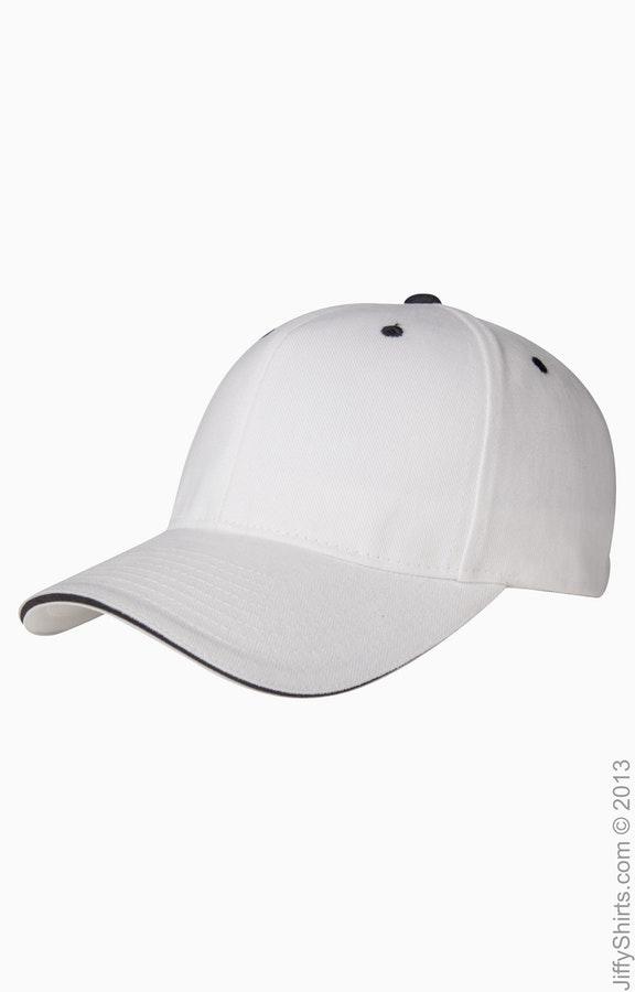 Yupoong 6262S White/Black
