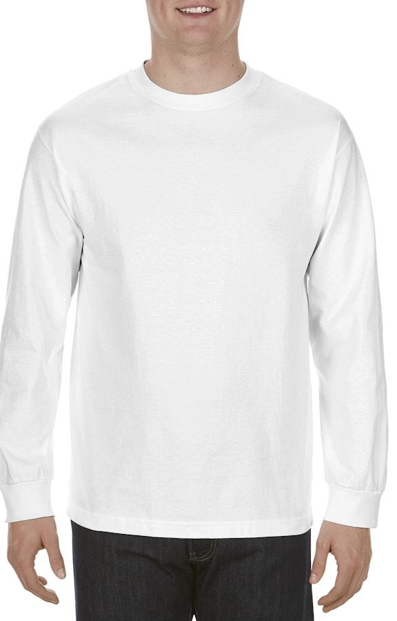 c9e7867ccef0 Alstyle AL1304 Adult 6.0 oz., 100% Cotton Long-Sleeve T-Shirt -  JiffyShirts.com