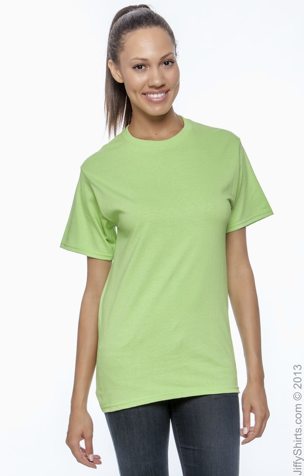 Hanes 5250T Lime